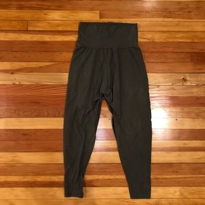 Army Green, American Apparel Harem Pants